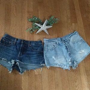 Levi's Shorts - Levi jean shorts